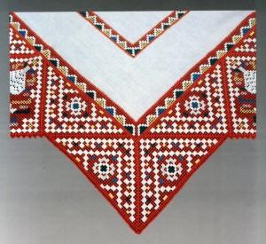 Художественная тарусская вышивка