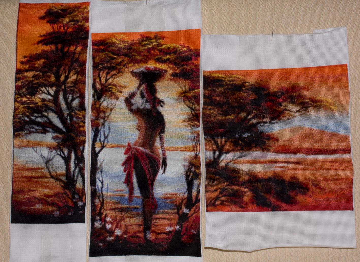 Схемы для вышивки триптих полиптих