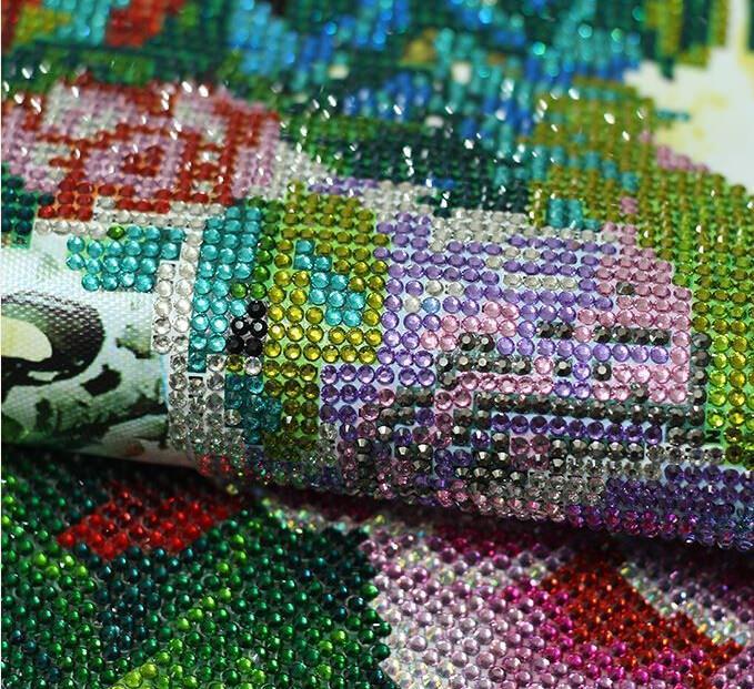 Ткань для вышивки стразами