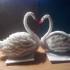 Лебеди из бисера