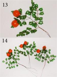 Мастер-класс по плетению апельсинового дерева из бисера