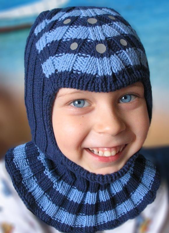 Вязание спицами резинки для головы