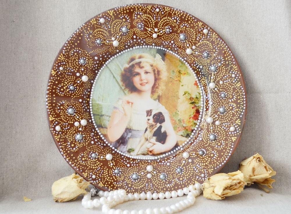 Декоративные тарелки на стену 81