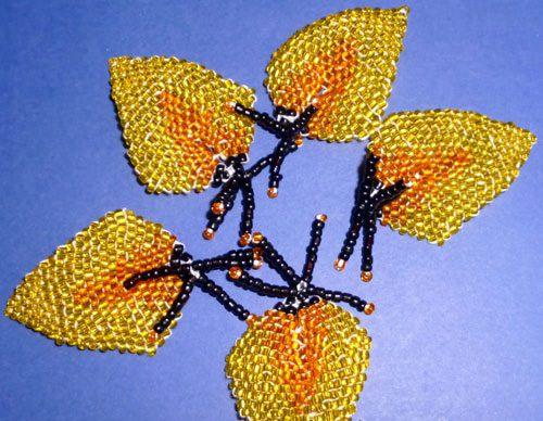 Схемы кирпичное плетение из бисера для начинающих