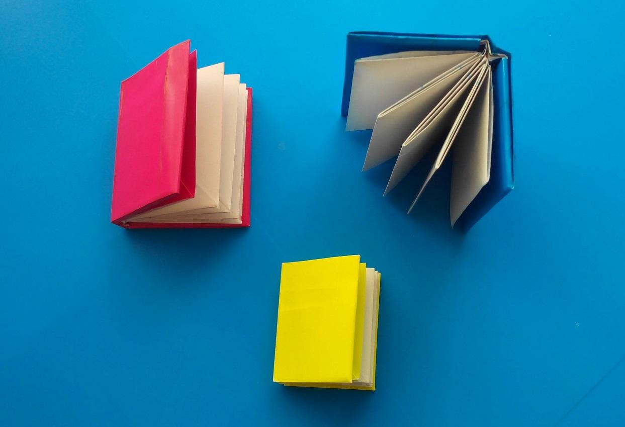 Как сделать книжку оригами из бумаги фото 432