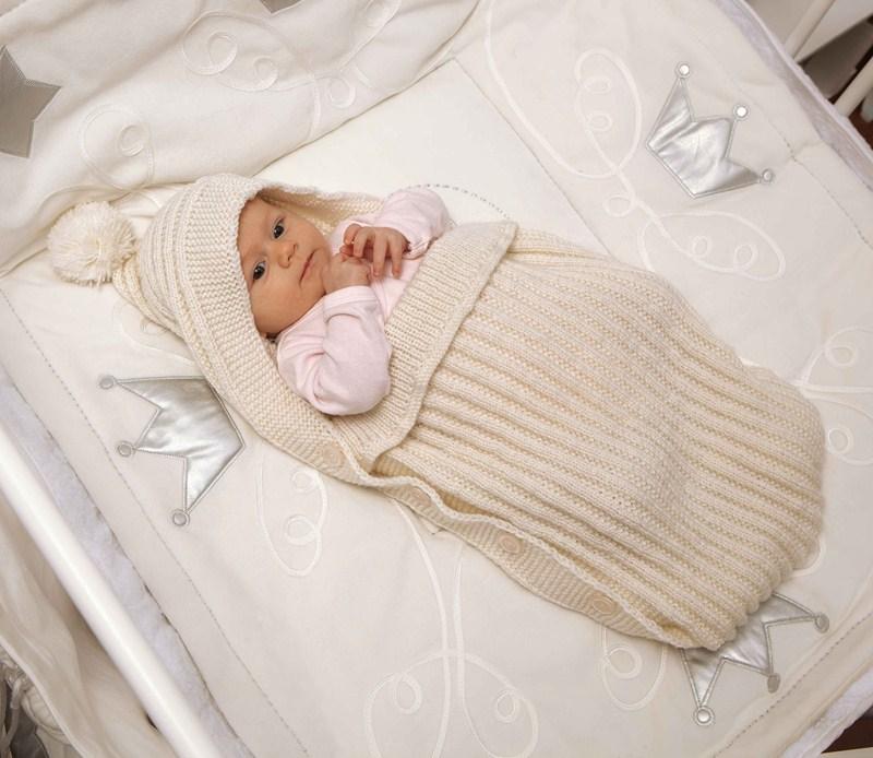 konvert_dla_novorogdennogo_zimniy_17 Конверт для новорожденного зимний: вязание спицами