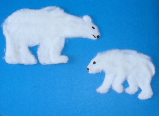 Мишка полярный фото