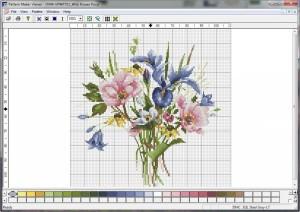 Программа «Pattern Maker Viewer» для создания схем для вышивки крестом