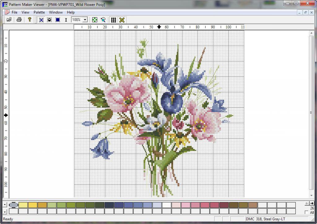 Скачать схемы вышивок pattern maker