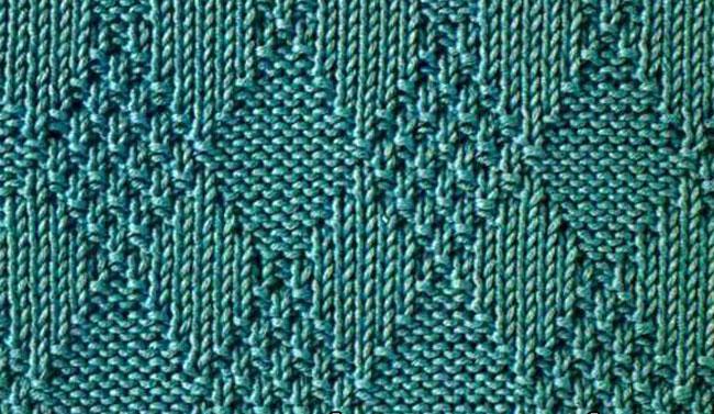 Узоры для вязания спицами Более 750 схем с описанием 57