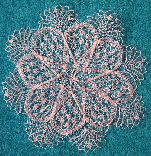 Вязаные салфетки со схемами вязания спицами на knitka Вязание на спицах салфетки подробное описание