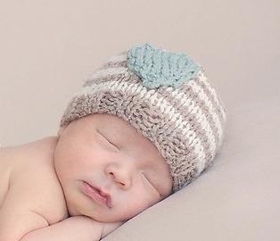 шапочка для новорожденного спицами варианты вязания фото