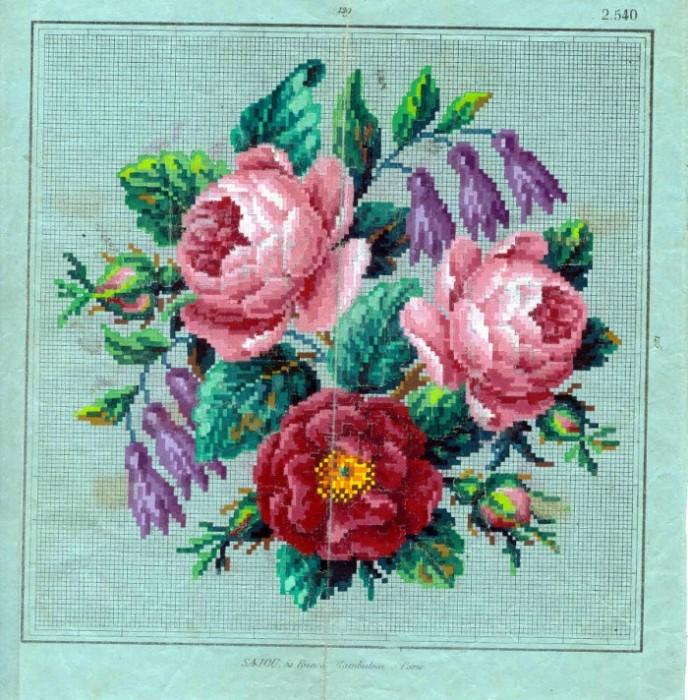 Маленькие цветы розы 2