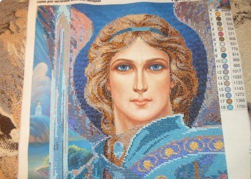 Схема вышивки архангела михаила