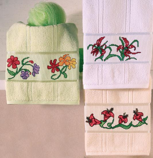Эскизы вышивки на полотенцах