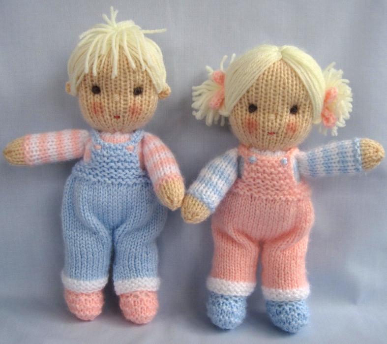 Вязаные куклы своими руками 280