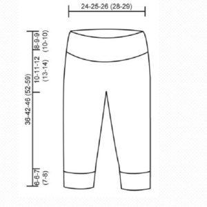 Выкройка штанишек