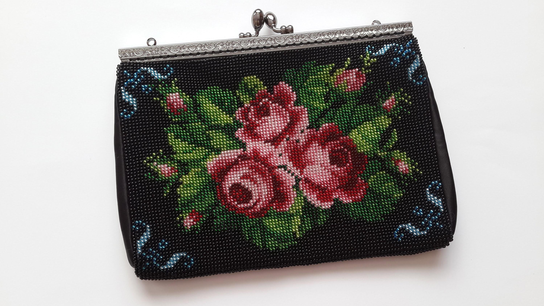 Выкройка сумки с вышивку