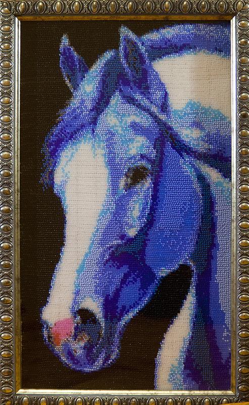 Вышивки бисером картины лошади