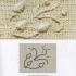 Вышивка по вязанному полотну