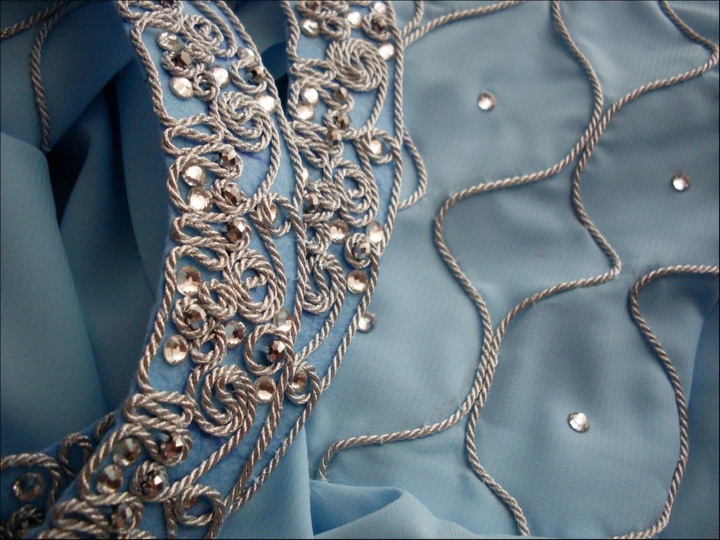 схема вышивки на одежду