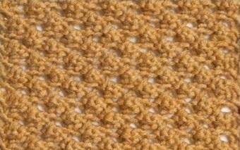 вязание узора ежевика спицами по схеме с описанием