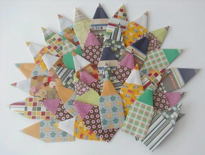 Оригами из модулей пингвин схема фото 921